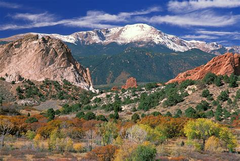 Pikes Peak Gardens by Autumn Garden Of The Gods Picture Pikes Peak