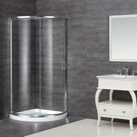 36 Inch Corner Shower Stall Aston 36 X 36 Inch Neo Clear Glass Shower Enclosure