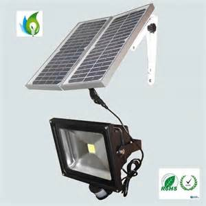 led solar flood lights 50w solar led flood light with pir motion sensor of item