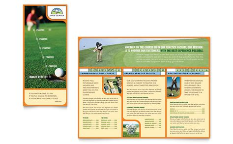 training course brochure template all templates deal
