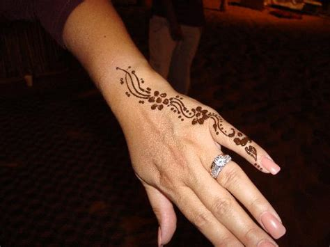 henna tattoo from desert dinner tour picture of dubai