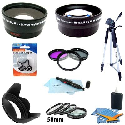 Promo Lens Canon Tulip Flower 58mm Plus Ulir Bagus buydig special pro kit for canon rebel t4i t3i t3 t2i t2 t1i canon eos 7d 60d
