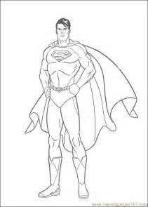 coloring pages superman 21 cartoons gt superman free