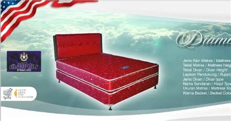 Kasur Olympic 160x200 harga indopillo detail american springbed