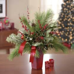 Christmas Floral Centerpiece Ideas - 17 best images about evergreen delights on pinterest big bows rustic baskets and pine