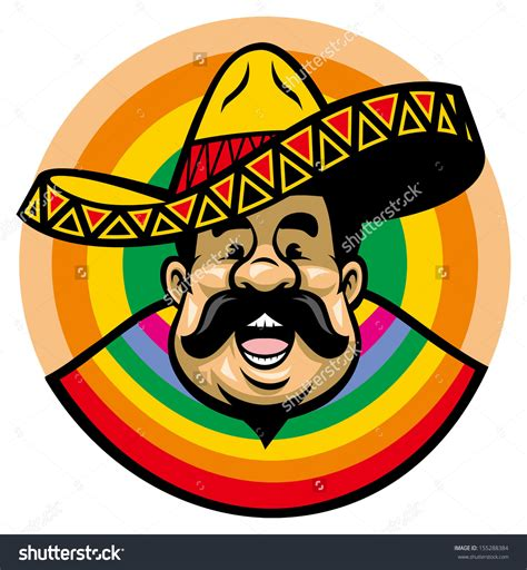 cartoon sombrero spanish man with sombrero clipart clipground