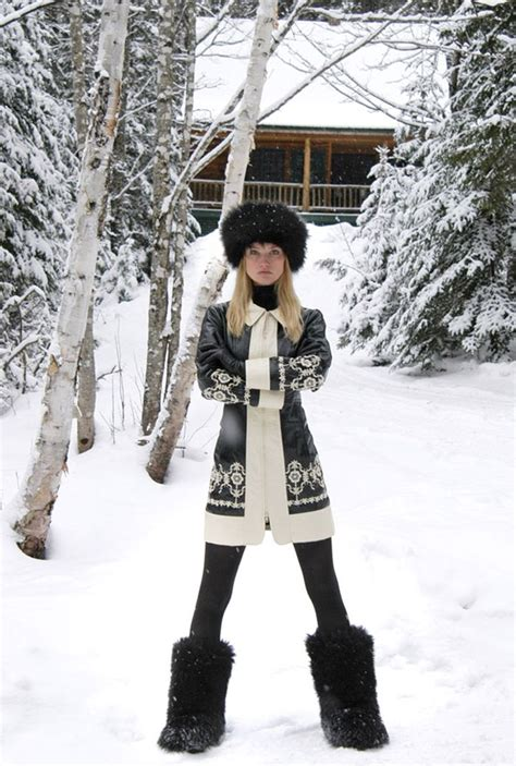 Fashion Newsletter Snow Chic 17 best images about chalet chic on ski
