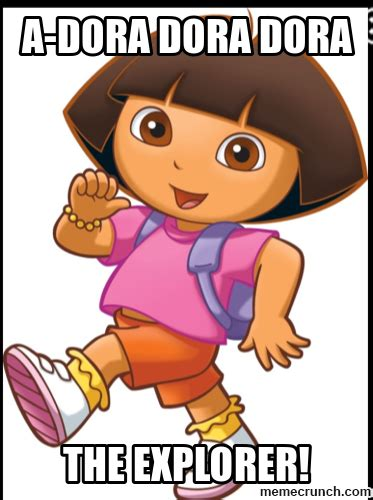 Dora The Explorer Meme - dora map memes