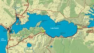 lake rotoiti topographic map map of lake rotoiti