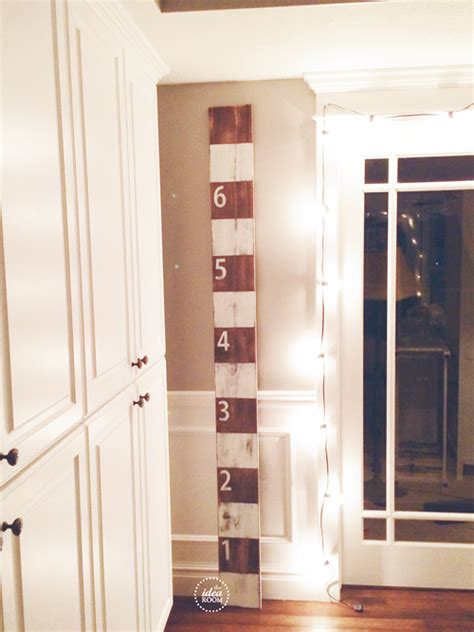 growth charts for rooms diy growth chart tutorial the idea room