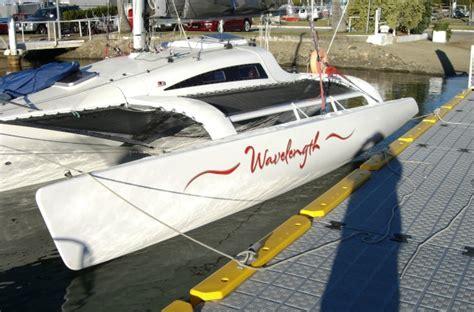 trimaran names a wavelength 780 trimaran cruise down under small trimarans