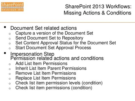 sharepoint 2013 workflow actions spca2013 windows workflow manager for the it pro