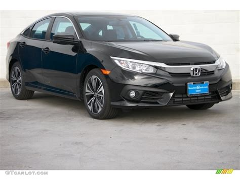 honda civic 2016 black 2016 black pearl honda civic ex l sedan 112684941