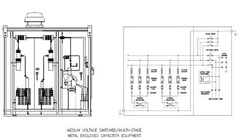 wiring diagram panel capacitor bank wiring diagram manual