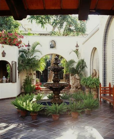 spanish courtyard designs spanish courtyard designs so replica houses