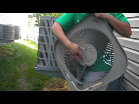 fans that work like ac do it yourself replacing bad air conditioning condenser