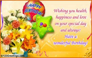 a bouquet of birthday wishes free birthday wishes ecards