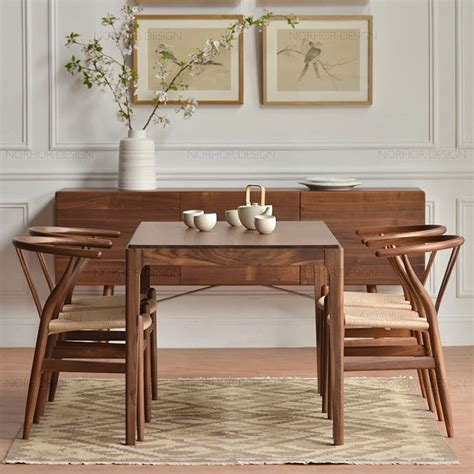 Hotel Dining Tables Nordic Wood Ash Solid Wood Dining Table Dining Table Ikea Coffee Table Model Room Hotel