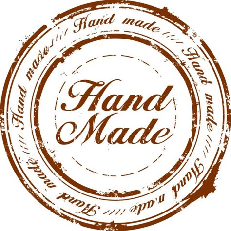 What Does Handcrafted - handmade logo 550x550