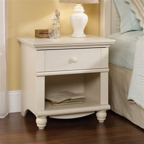 white night tables for bedroom nightstand in antique white 400639