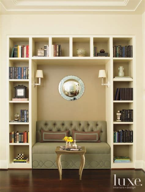 bookcase with reading nook 1000 images about luxe libraries on pinterest design