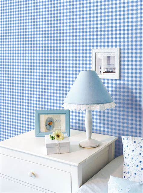 blue pattern contact paper check pattern blue contact paper peel stick wallpaper