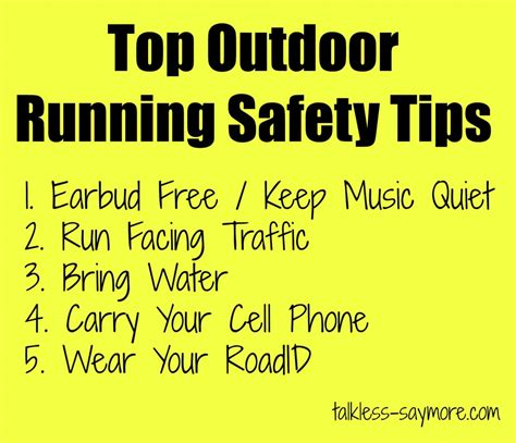 9 tips for running safely what are your top outdoor running safety tips images frompo