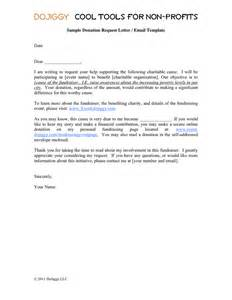 Sample Letter Making Donation Charity donation request letter email template in word and pdf