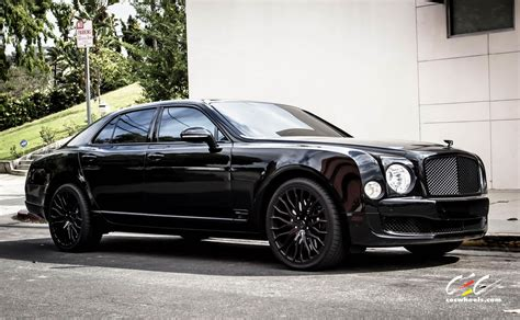 bentley mulsanne blacked out обзор модели bentley mulsanne