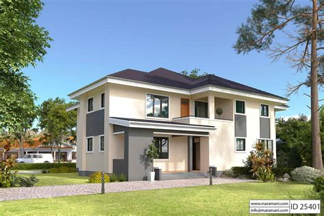house with 5 bedrooms 5 bedroom house plan id 25401 floor plans by maramani