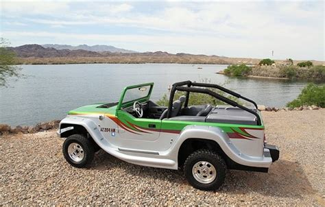 Panther Jeep Is It A Jeep Is It A Speedboat No It S Watercar S