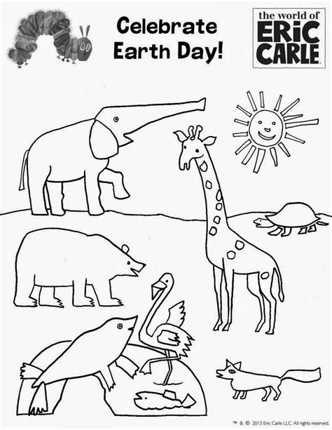 5 earth day coloring pages for kindergarten