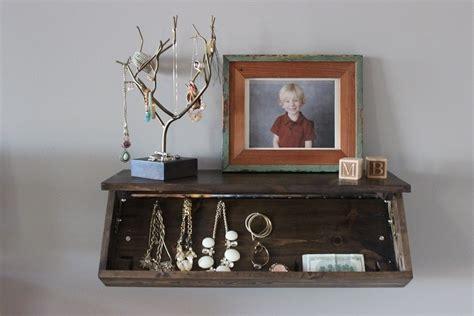 secret floating shelf     wall shelf home