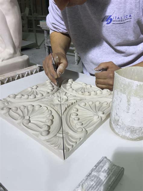 apliques en yeso bogota trabajando en nuestra fabrica placa decorativa de escayola