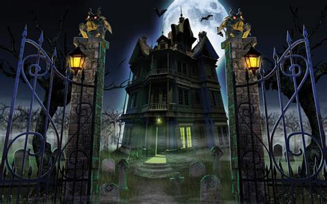 x haunted house horror ghost houses wallpapers hq image size 1440x900