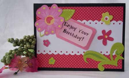 How To Make A Birthday Card Handmade - birthday card many handmade greeting cards to create