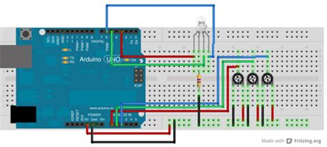 ingresso rgb tutorial arduino 3 led e 3 potenziometri mauro alfieri