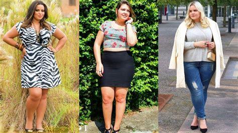 ropa gorditas you tube ropa plus size 2018 elegantes outfits para gorditas y