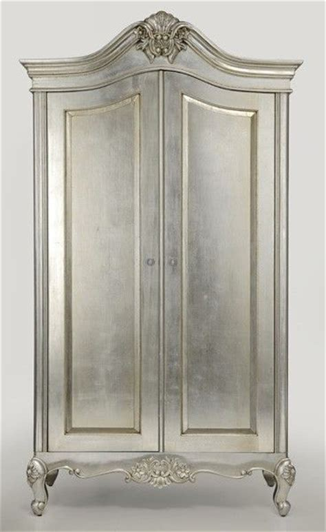 Silver Wardrobe by 1000 Images About Painted Silver Cabinets On