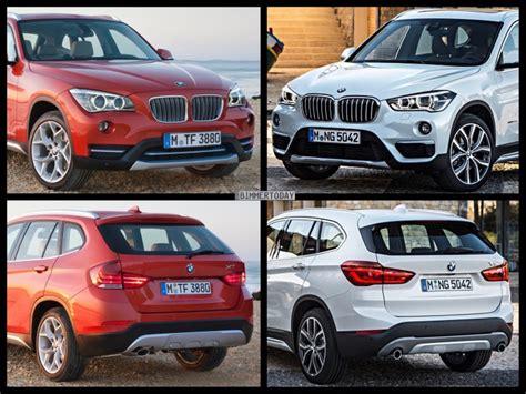 Bmw 1er Facelift Unterschiede 2015 by Bild Vergleich Neuer Bmw X1 F48 Vs Vorg 228 Nger X1 E84