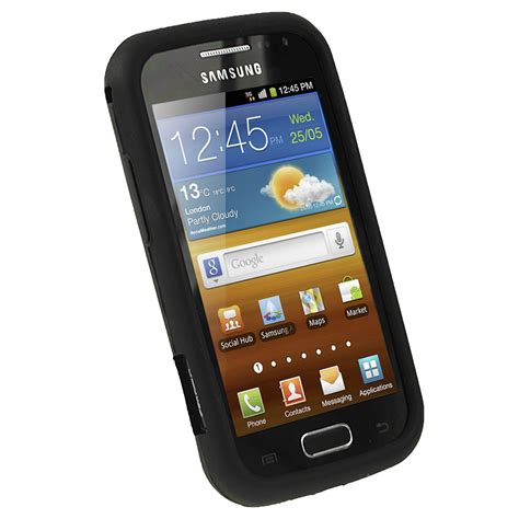 Hp Samsung Ace 2 black silicone skin for samsung galaxy ace 2 i8160 android cover holder ebay