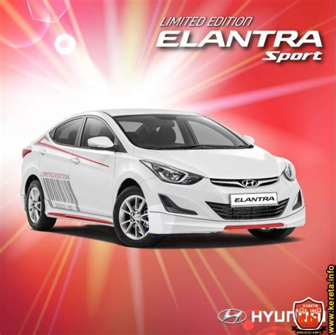 kereta hyundai elantra 2015 new hyundai elantra sport limited edition body kit and sticker