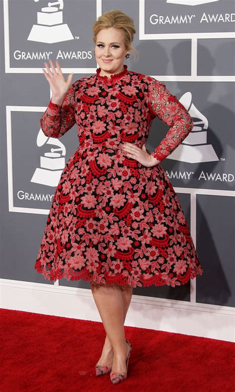 Adele At The 2013 Grammys The Hollywood Gossip | adele at the 2013 grammys the hollywood gossip