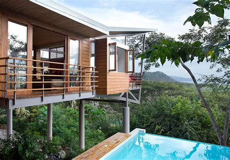 Beach House Blueprints the floating house playa hermosa costa rica sleeps 7