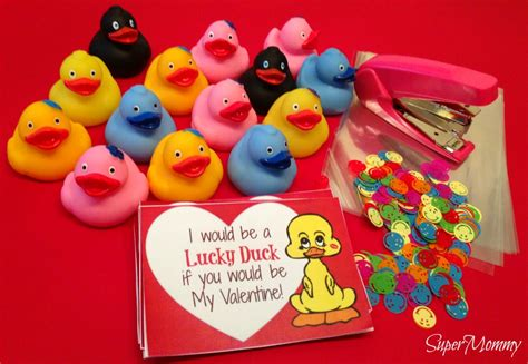 Duck Store Gift Card - diy valentine s day cards for kids lucky duck