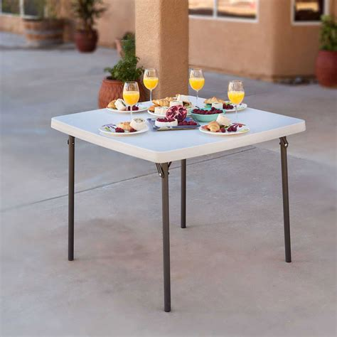 lifetime 22315 folding card table on sale with fast free