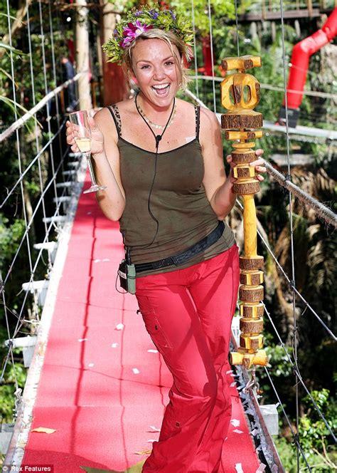 celebrity jungle who is out charlie brooks i m a celebrity 2012 winner sent messages
