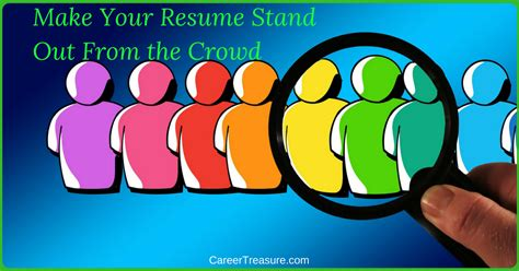 make your resume stand out from the crowd expert career change leadership development coach
