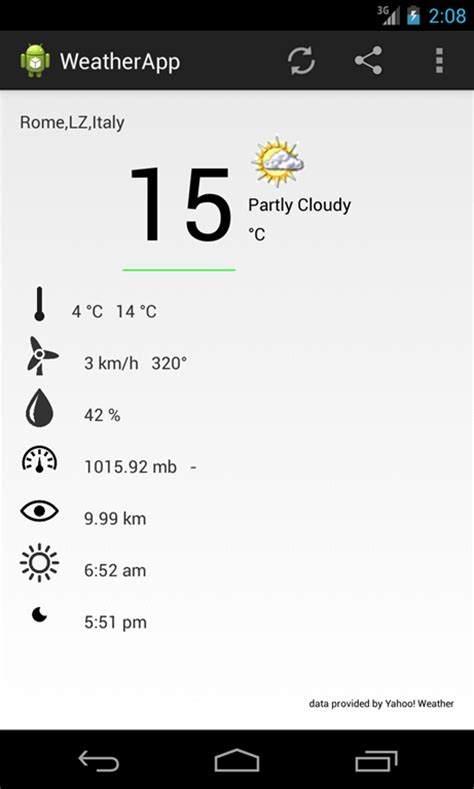 android app tutorial android weather app tutorial with step by step guide
