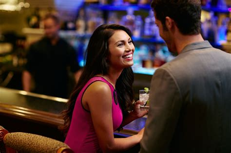 Rustic Dining Rooms chumash nightlife couple at bar hotel corque